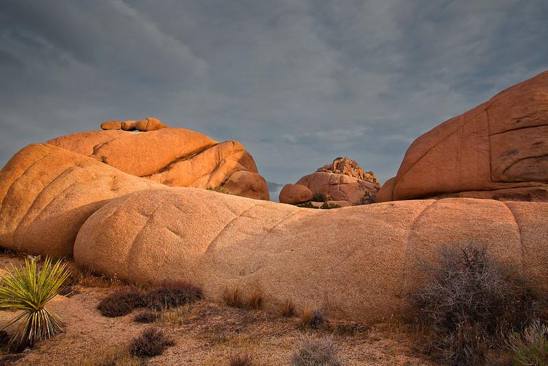 California, Joshua Tree National Park, Rocks, Landscape, 加利福尼亚, 约束亚树国家公园, 风景