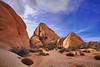 California, Joshua Tree National Park,  Jumbo Rocks, Landscape, Combined HDR, 加利福尼亚, 约束亚树国家公园, 风景, 高动态范围拍摄