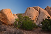 California, Joshua Tree National Park, Evening Twilight, Rocks, Landscape, 加利福尼亚, 约束亚树国家公园, 黄昏, 风景
