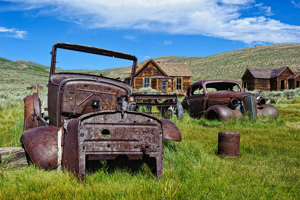Abandoned Vechiles - Bodie Ghost Town - California