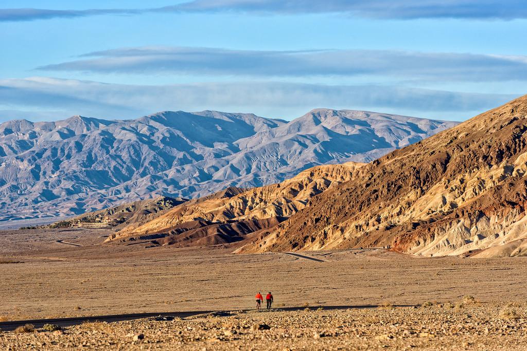 Biking in Death Valley