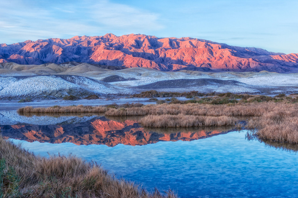 Sunrise at Salt Creek - Death Valley National Park - California