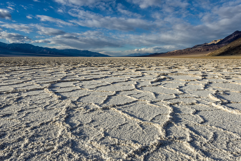 Salt Flats at Badwater