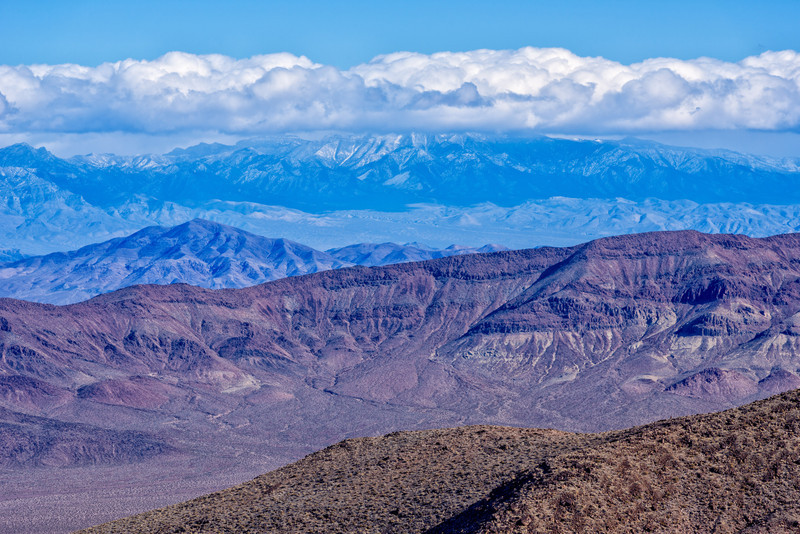 Looking across Death Valley from Dantes View
