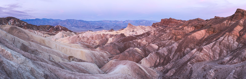Zabriskie Point Pano