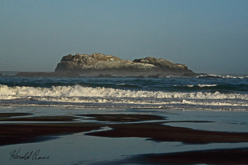 A seascape taken June 15, 2011 near Crescent City, CA.