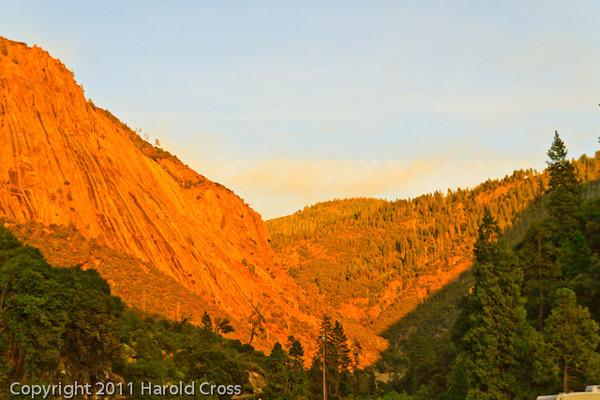 A landscape taken Sep. 27, 2011 at Yosemite National Park.