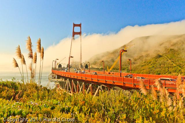 A landscape taken Sep. 26, 2011 near San Francisco, CA.