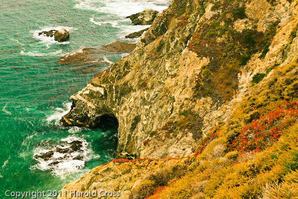 A landscape taken Sep. 29, 2011 near Carmel by the Sea, CA.