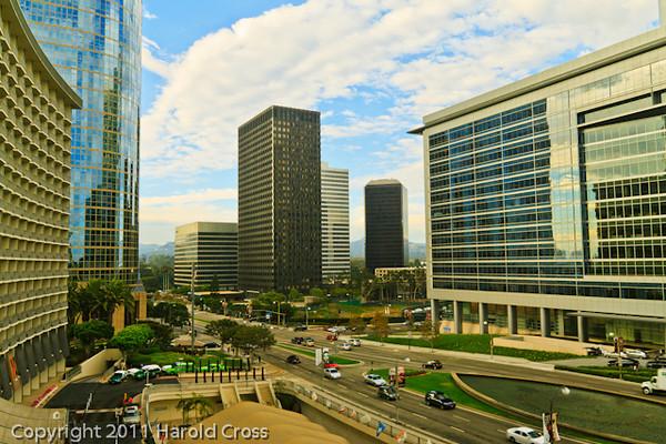 A landscape taken Sep. 30, 2011 in Los Angeles, CA.