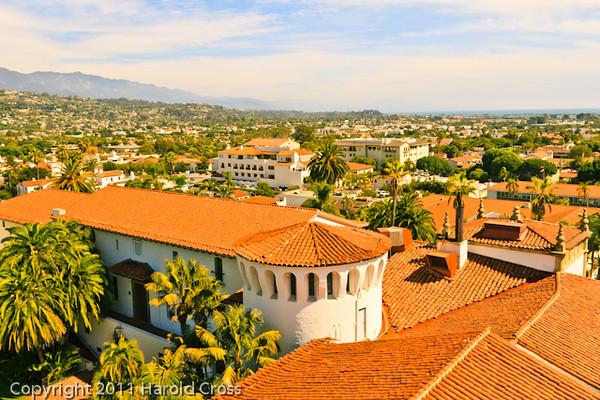 A landscape taken Sep. 30, 2011 in Santa Barbara, CA.