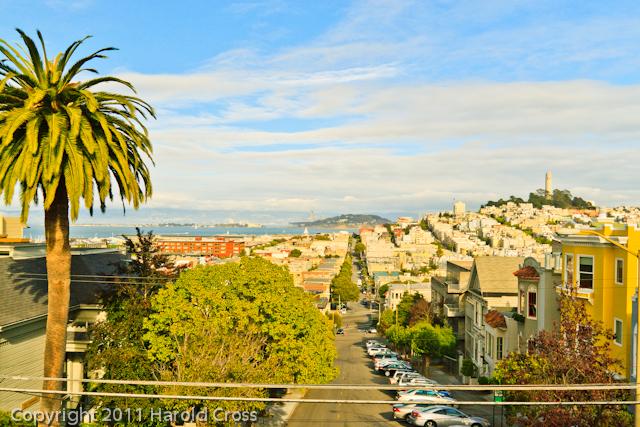 A landscape taken Sep. 26, 2011 in San Francisco, CA.