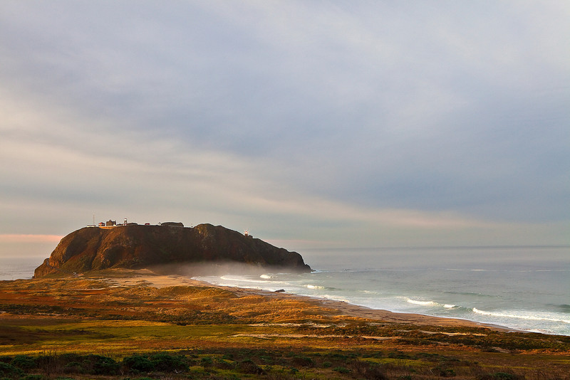 California, Big Sur Coastline, Sunrise Landscape 加利福尼亚 海滩 风景
