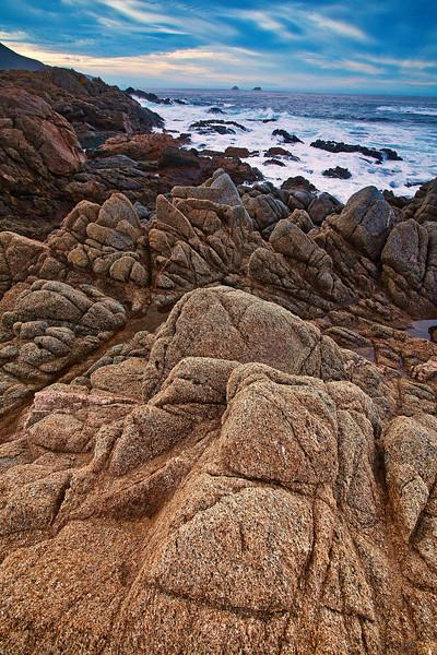 California, Central Coastline, Big Sur Landscape 加利福尼亚 海滩 风景