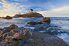 California Northern Coastline, Crescent City, Battery Point Lighthouse, Sunrise, Redwood National Park, Landscape 加利福尼亚 红杉树国家公园 海滩 风景