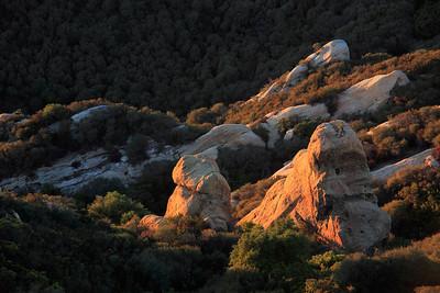 Saddle Peak Geological Formations