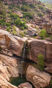 Tar_Creek_Waterfall_Sespe_Wilderness