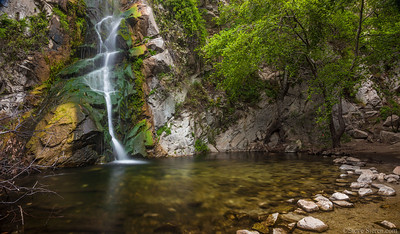 Sturtevant Falls Angeles National Forest Southern California