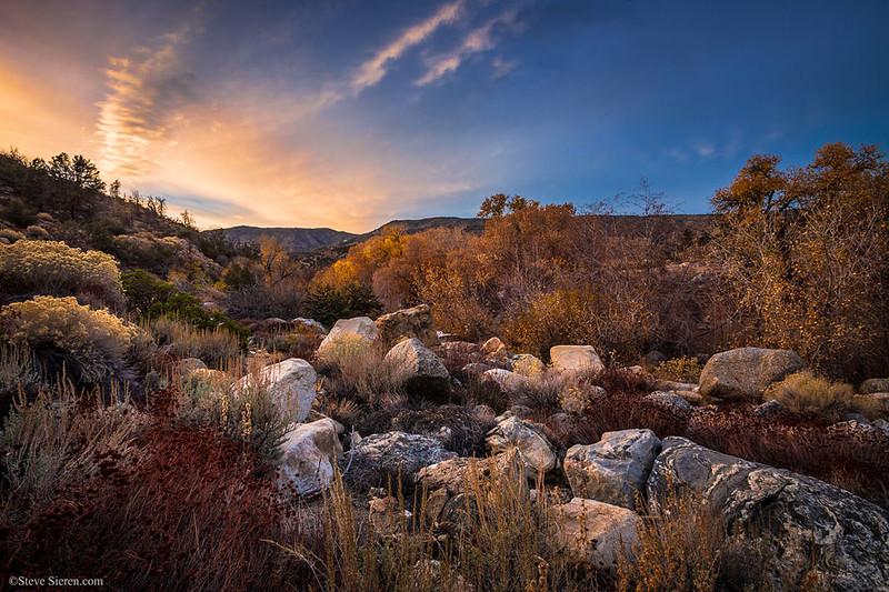Piru Creek - Southern California Autumn