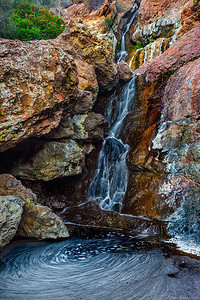 Zuma Falls - Santa Monica Mountains