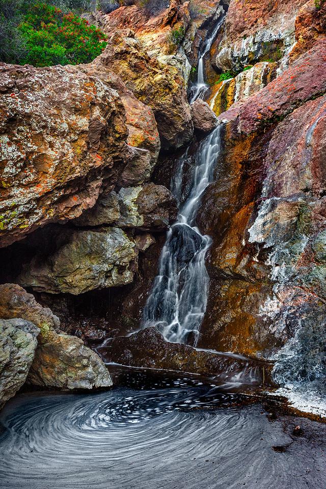 Zuma Falls - Santa Monica Mountains