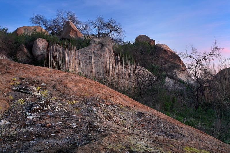 Santa Susana Mountains Lichen Boulders