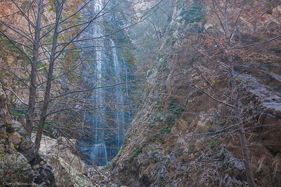 Bonita Falls (lower) - Southern California Waterfalls