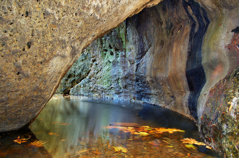 The Grotto  Santa Monica Mountains National Recreation Area, California