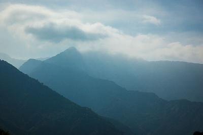 Sespe Wilderness Mountain Ridges