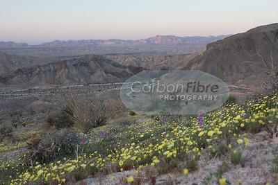 Evening, Carrizo Badlands