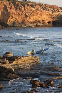 Surfers, Sunset Cliffs, San Diego
