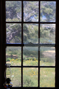 Boys' bedroom window, Old Point Loma Lighthouse