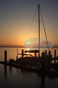 Dawn on San Diego Bay