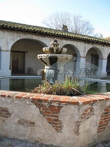 Fountain, Mission San Miguel