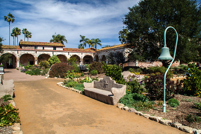Entrance Courtyard, Mission San Juan Capistrano
