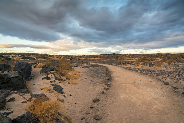 Amboy Crater in South Eastern California