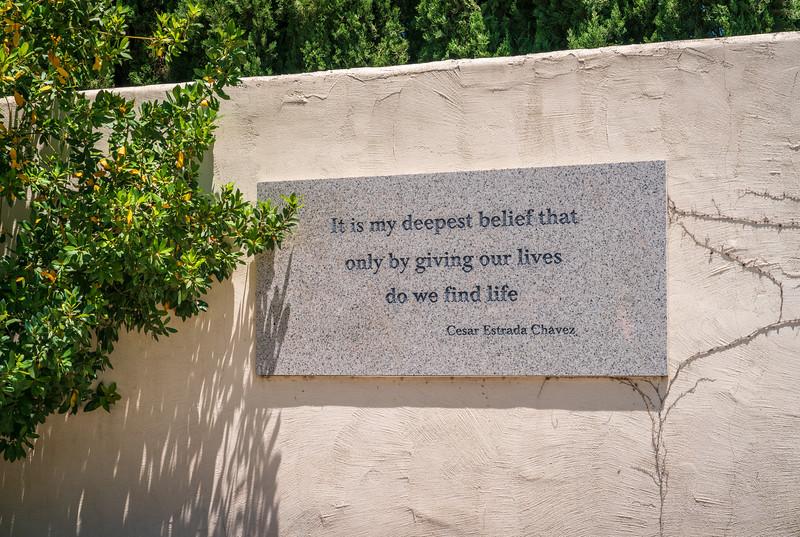 Grave Site César E. Chávez National Monument