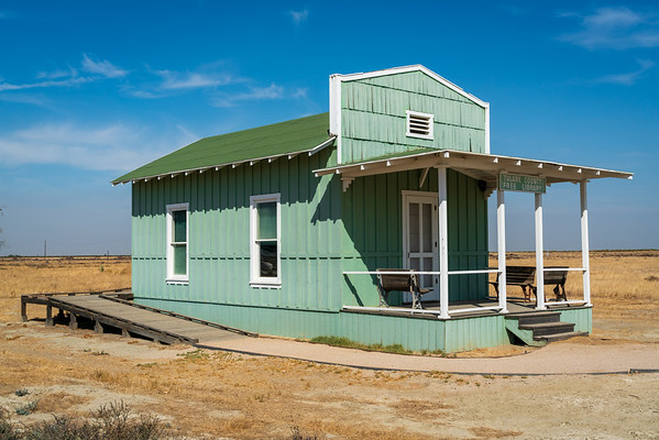 The Free Library at Colonel Allensworth State Historic Park
