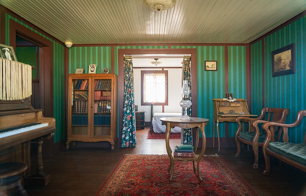 Inside House at Colonel Allensworth State Historic Park