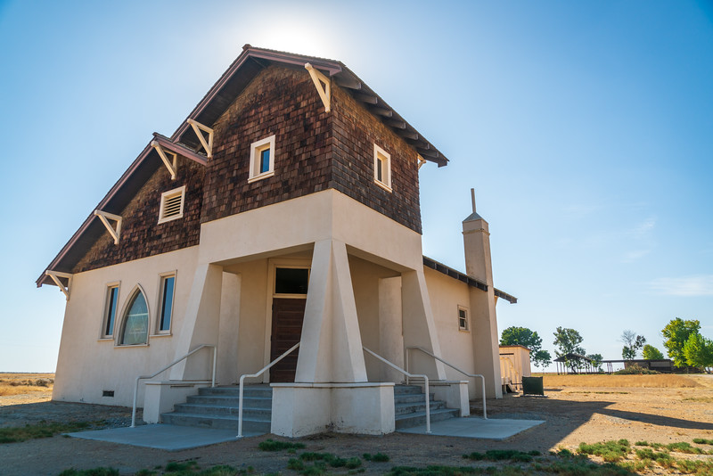 Church at Colonel Allensworth State Historic Park
