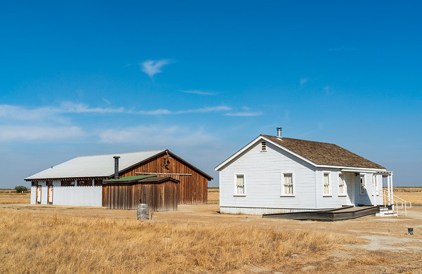 House and Barn at Colonel Allensworth State Historic Park