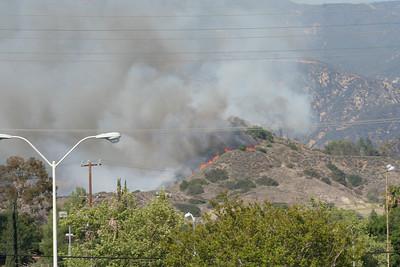 Fire in Sunland.