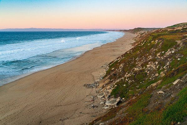 Sunset at Fort Ord Dunes State Park