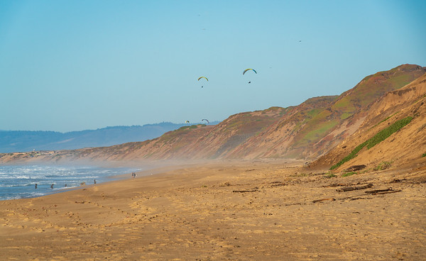 The Beach at Fort Ord Dunes State Park