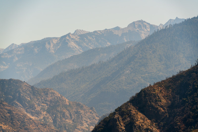 Rocky Mountains at Giant Sequoia National Monument