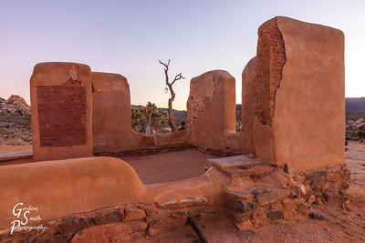 Clear Skies over Ryan Ranch Ruins