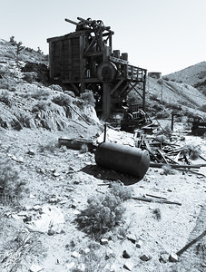 Lost Horse Canyon Mine Ruins