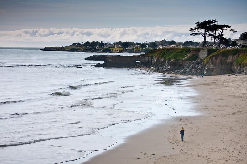 Santa Cruz Beach, West Cliff Drive, Santa Cruz, CA