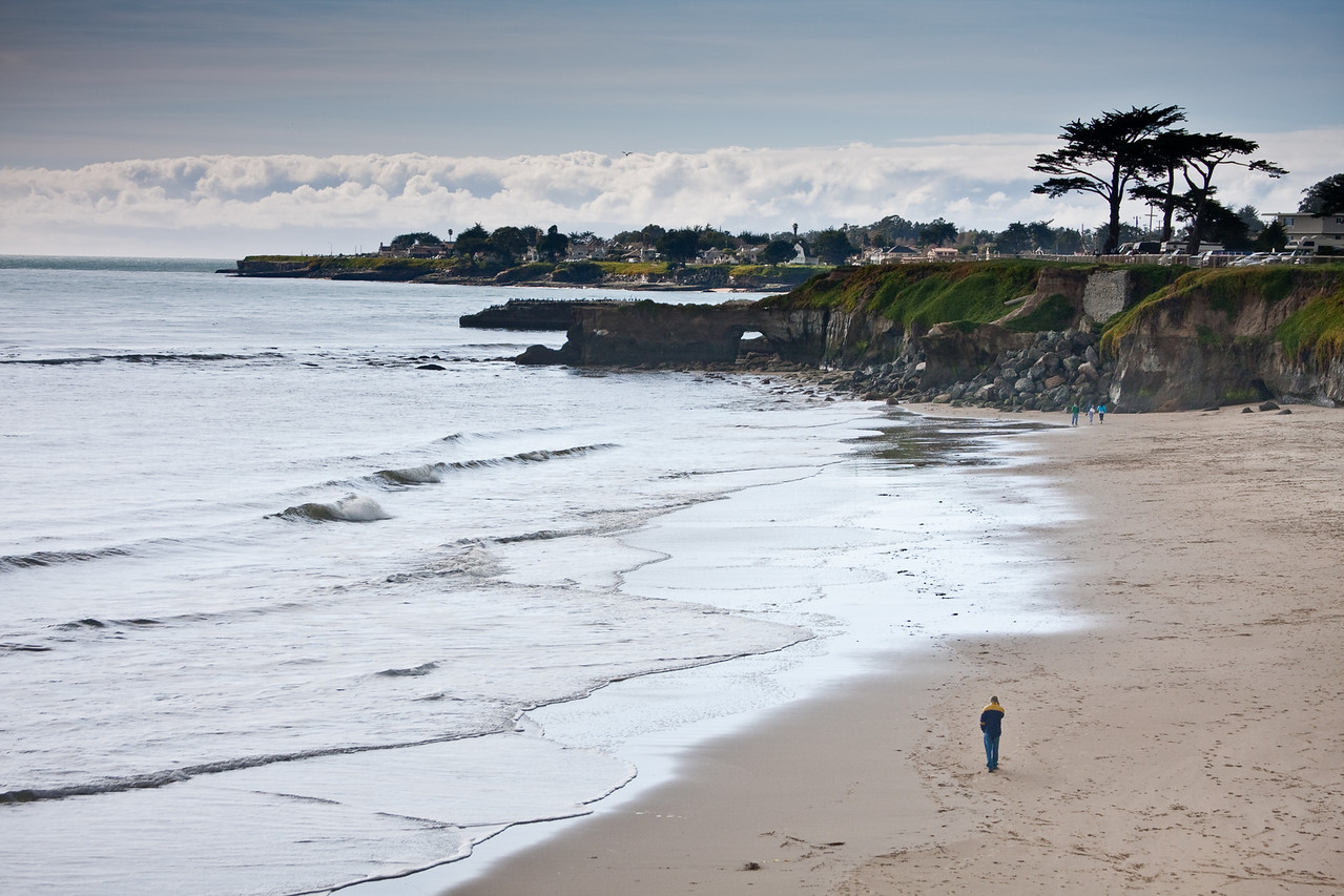 Santa Cruz Beach, West Cliff Drive, Santa Cruz, CA