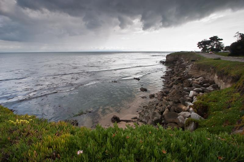 Monterey Bay from West Cliff Drive, Santa Cruz, CA